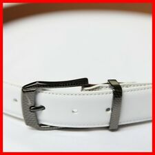 New Nike Golf Belt Modern White Belt 32 34 36 38 40 $50