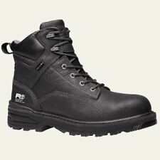 """Timberland Pro Boots Mens Resistor 6"""" Composite safety Toe Waterproof BLK  A122Q"""