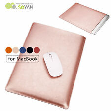"Microfiber Leather Laptop Sleeve Case Cover for Macbook Pro 11/13/12/15"" Air 13"""