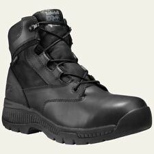 """Timberland PRO Boots Mens Valor Duty 6"""" Soft Toe Waterproof Black Boot 1164A"""