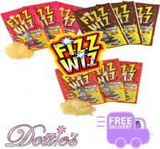 x10 Pkts Fizz Wizz Popping candy  party bag filler, favours, RETRO sweets