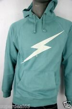 Lightning Bolt Hooded Dusty Turquoise Bolt Pure Juice Hoodie Lightning Bolt