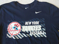 NWT Nike Men's NY Yankees Baseball MLB Cooperstown Collection Core Logo Tee