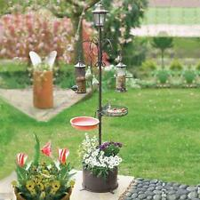 Solar Bird Feeding Station with Several Functions