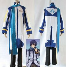 Vocaloid Kaito Cosplay White & Blue Costume Halloween Anime Men's Fancy Dress