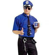 Mens Adult Bucks Party Police Fancy Dress Costume