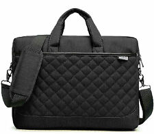 """14"""" 15.6"""" Inch Black Laptop Notebook carrying briefcase bag Nylon for Dell HP"""