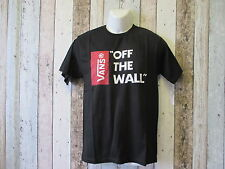 Vans OFF THE WALL black t shirt SMALL (2941821 loc 82)