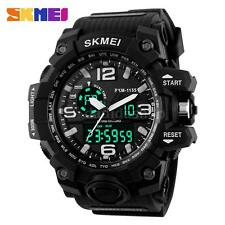 Fashion SKMEI Watch Sport Quartz Wrist Men Boy Analog Digital Waterproof N5C5