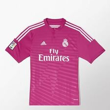 REAL MADRID ADIDAS 100% ORIGINAL Away Jersey Pink Men - All sizes - (M37315)