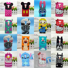 Stitch & Sulley Disney Cartoon Soft Silicone Back Case Cover For LG G3 & LG G4