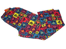NWT DC COMICS HEROES SUPERMAN COLORFUL PAJAMA LOUNGE PJ SLEEP PANTS S, M, XL