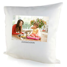 PERSONALISED SOFT CUSHION COVER YOUR IMAGE PHOTO TEXT