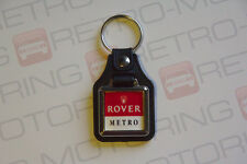 Rover Metro Keyring - Leatherette retro British car keyfob