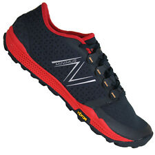 New Balance Minimus 10v4 Trail Sneakers, Black w/ Red - MT10BR4