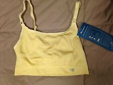 NWT Champion 2823 Double Dry Seamless Sports Bra Yellow Choose Size