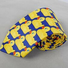 How I Met Your Mother HIMYM Barney&Marshall's Yellow Ducky Duckie Duck Tie New