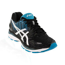 Asics - Gel Nimbus 18 Running Shoe - Black/White/Island Blue