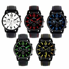 Luxury Male Analog Quartz Watch Sport Stainless Steel Wristwatch Brand New
