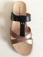 New Womens Colorado Comfort Shoes Leather Sandal/Thong Black Sz 6/7/8/9/10/11/12