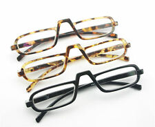 EGO Unisex Style Design Reading Glasses Black Amber Tortoise Nerd +2.50