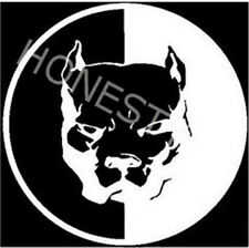 Pitbull Car Stickers Motorcycle Styling Decals Dog wall window vinyl decor gift