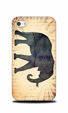 ELEPHANT WATERCOLOR ART  HARD CASE COVER FOR APPLE iPHONE 4 / 4S