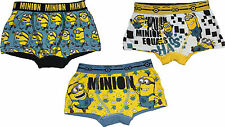 Despicable Me Minions Childrens Boxer Shorts BestTrend