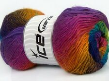 "4 x 100g Ice Yarns ""Primadonna"" 5-Ply Wool & Acrylic Yarn"