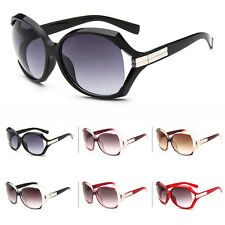 New Retro Fashion Big Style Women's Vintage Shades Oversized Designer Sunglasses