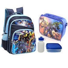 "16"" Boys Backpack Kids Large School Bag Shoulder Travel Satchel Bookbag"
