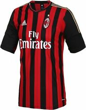 NEW ADIDAS Men`s AC Milan Home Football Soccer Jersey Shirt Italy