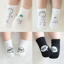 Cute Baby Socks Boy Girl Cartoon Cotton Socks NewBorn Infant Toddler Socks 0-4Y