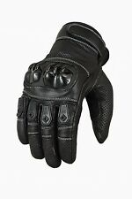 Motorcycle gloves summer Roller leather aniline cowhide S M L XL XXL
