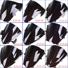 Windscreen Windshield Wind Deflector Windproof For Suzuki GSXR600/750/1000/750F