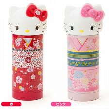 Hello Kitty Drink Mug Stainless Bottle Insulated Kimono 360ml Sanrio Japan S4994