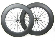 20.5mm width 88mm clincher carbon fiber road bike  wheel for shimano