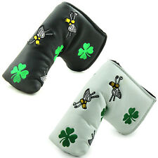 """""""Clover"""" Golf Putter Cover Headcover For Titlist Scotty Cameron Ping Callaway"""