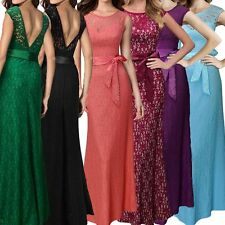 Womens Sexy Long Backless Prom Evening Party Bridesmaid Wedding Maxi Dresses