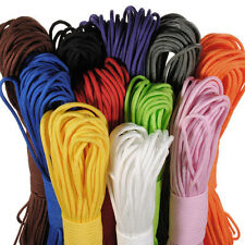 Cool 100 Ft 550 Paracord Parachute Cord Lanyard Spec Type Strand Core Rope JS