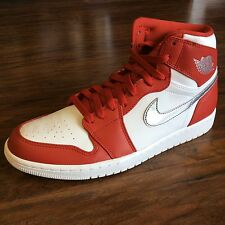 Air Jordan 1 Retro High Gym Red/Metallic Silver/white 332550-602