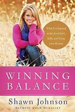 SHAWN JOHNSON WINNING BALANCE [9781414372105] - NANCY FRENCH (HARDCOVER) NEW