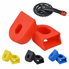 2x Crankset Protector Road Bike Bicycle Crank Sleeve Protective Cover Crank Arm