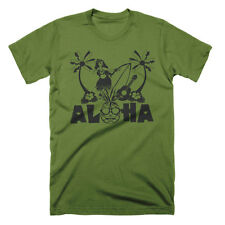 Aloha Pineapple T Shirt Hawaiian Tshirt Surf Tees Cool Graphic Tees Surfing Tee