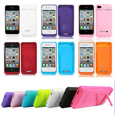 External Battery Case Power Bank Phone Charger for Apple iPhone 4 / 4S / 5 / 5S