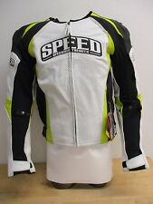 Speed & Strength Twist of Fate 3.0 Motorcycle Leather Jacket Hi-Vis 44 877526