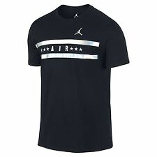 Air Jordan 23 Now And Forever Tee Black Colored Metallic Graphic T-Shirt