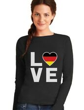 I Love Germany - German Flag Deutschland Best Gift Women Long Sleeve T-Shirt