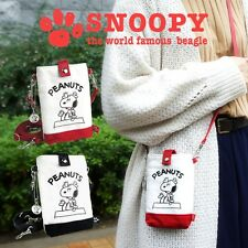 PEANUTS SNOOPY Smartphone iPhone Pouch Shoulder Mini Bag Purse from Japan R1880