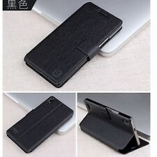 For Huawei Ascend P6/P7 Mate 7 Ultra Slim Flip PU Leather Case Stand Cover